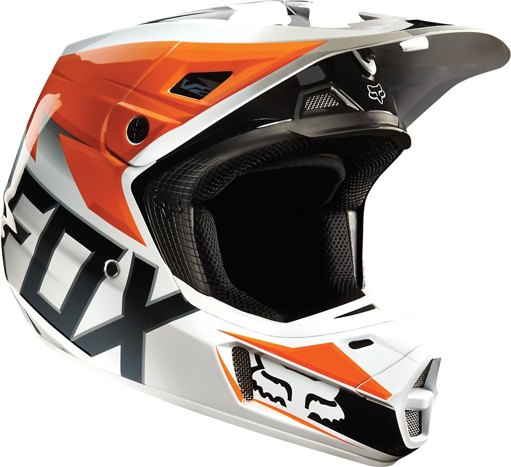 299 95 Fox Racing V2 Race Mx Helmet 199172
