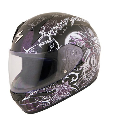 Discount Motorcycle Gear >> $149.95 Scorpion Womens EXO-R410 Orchid Full Face Helmet ...