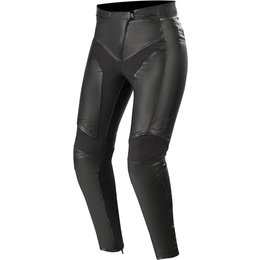 Alpinestars Womens Stella Vika V2 Leather Pants Black