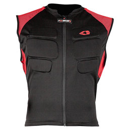 Black, Red Evs Mens Compression Protection Vest 2013 Black Red
