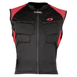 Black, Red Evs Mens Compression Protection Vest 2013 Black Red