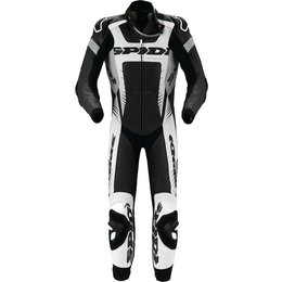 Spidi Sport Warrior Wind Pro 1 Piece Leather Suit Black