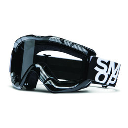 Black, Silver Smith Optics Option Otg Over The Glass Static Goggles W Clear Lens 2013 Blk Slvr
