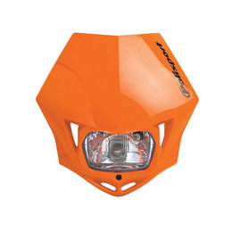 Orange Polisport Mmx Headlight 35 Watt Universal
