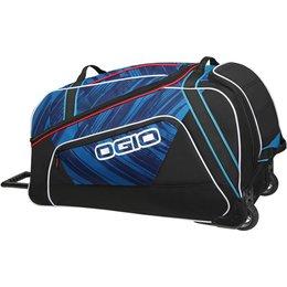 Ogio Big Mouth Rolling Luggage Wheeled Gear Bag Blue