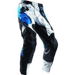 Thor Mens Pulse Taper MX Motocross Textile Riding Pants White
