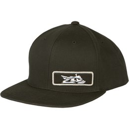 Fly Racing Mens Primary Snow Snapback Adjustable Hat Black Black