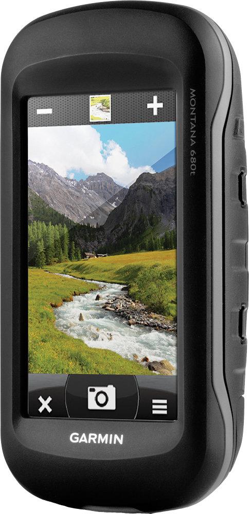 Garmin Montana 680T Handheld 4 Inch Touchscreen GPS Navigator with 8MP  Camera