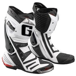 White Gaerne Gp-1 Air Road Racing Boots Us 12