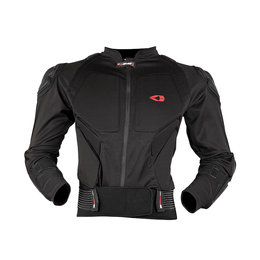 Black, Red Evs Mens Compression Protection Jacket 2013 Black Red