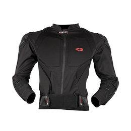 Black, Red Evs Mens Compression Protection Jacket 2013 Black Red