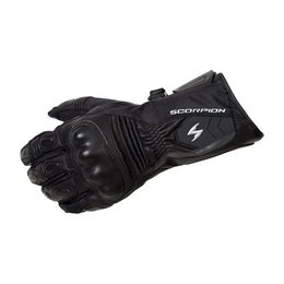 Black Scorpion Mens Tsw Leather Textile Touchscreen Gloves 2013