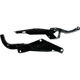 HardDrive Heavy Duty Speaker Support Brackets For Harley Davidson Black 351567 Black