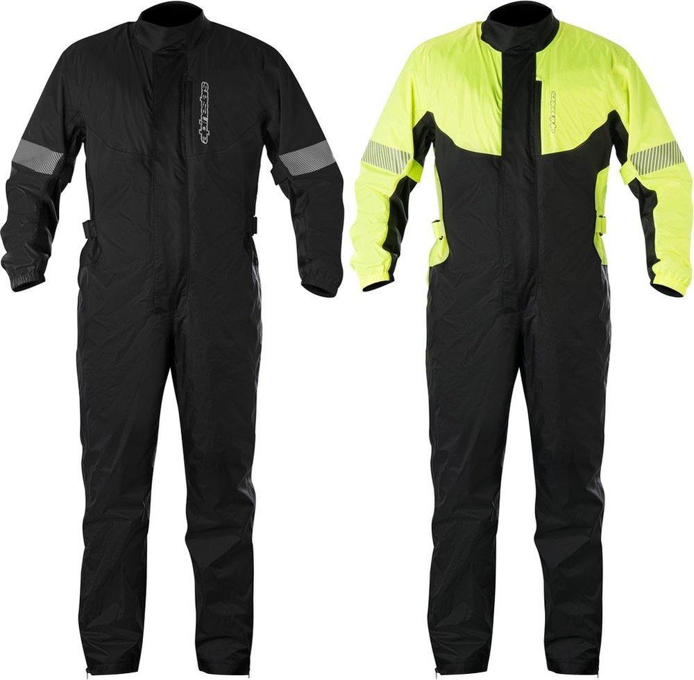 YELLOW//BLACK Alpinestars Hurricane One-Piece Rain Suit XXX-LARGE