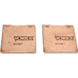 Vortex VSR Sintered Rear Brake Pads Single Set Yamaha YZF600R YZF750R 555VSR Unpainted