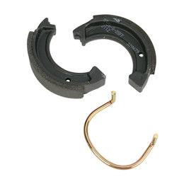 SBS All Weather Brake Shoes With Springs Single Set Only 2112 Unpainted