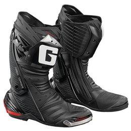 Black Gaerne Gp-1 Road Racing Boots Us 8