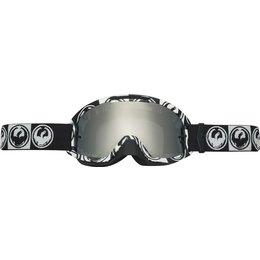 Dragon Alliance Mens X2 MX Goggles Black