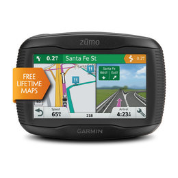 Garmin Zumo 595LM Motorcycle Navigation System With Touchscreen And Bluetooth Black