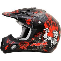 AFX FX17 Zombie Motocross Helmet Black