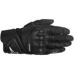 Alpinestars Womens Stella Baika Touchscreen Leather Gloves Black