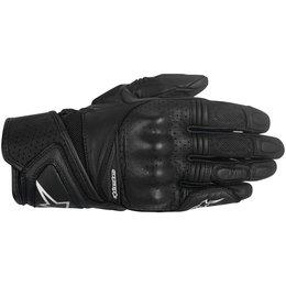 Alpinestars Womens Stella Baika Touchscreen Leather Gloves Black