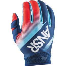 Answer Racing Mens Elite Riding Gloves Blue