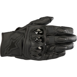 Alpinestars Mens Celer V2 Leather Gloves Black
