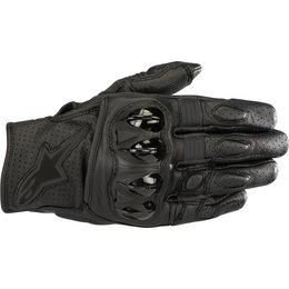Alpinestars Mens Celer V2 Leather Gloves Black