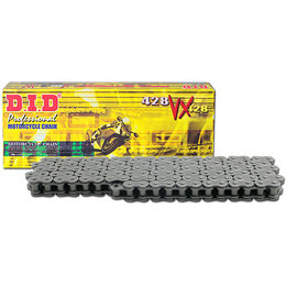 DID Chain 428VX 120 Link Chain Natural Steel Honda Kawasaki Yamaha 428VXX120FB Unpainted
