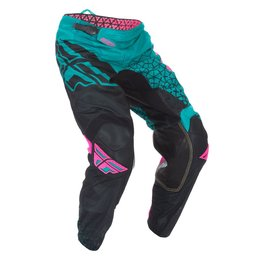 Fly Racing Mens Kinetic Mesh Trifecta Pants Blue