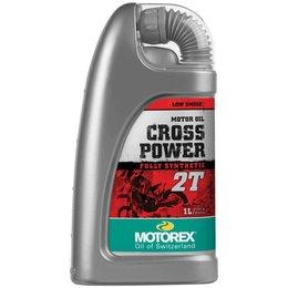 Motorex Cross Power 2T Full Synthetic Oil For 2-Stroke Engines 1 Liter