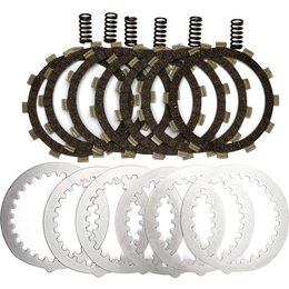 EBC DRC Series ATV Clutch Kit With Cork Friction Plates For Yamaha DRC42 Unpainted