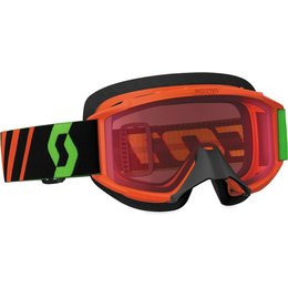 Scott USA Youth 89Si SX Snowcross Anti-Fog Goggles Orange