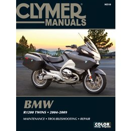 Clymer Manual For BMW 2004-2009 R1200 Twins M510 Unpainted