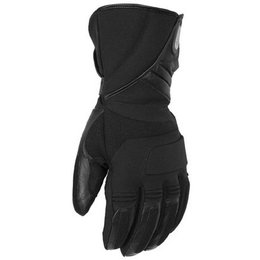 Black Pokerun Winter Textile Gloves Long