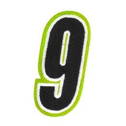 Hi-vis American Kargo 5 Inch Number #9 Nine Patch 2014