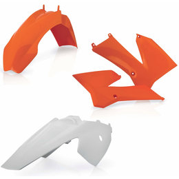 Acerbis Full Plastic Kit For KTM 85 SX 105 SX Original 2253103593 Orange
