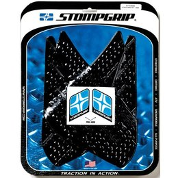 Stompgrip Traction Pad Tank Kit Black For Yamaha R1 2007-2008 55-10-0006B