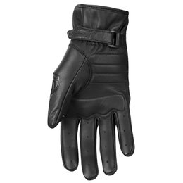 Highway 21 Womens Roulette Leather Gloves Black
