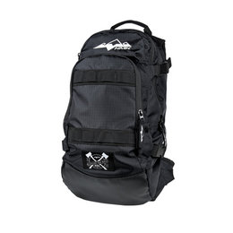 HMK Cascade Adjustable Snow Hiking Gear Backpack 1,000 Cubic Inches Black