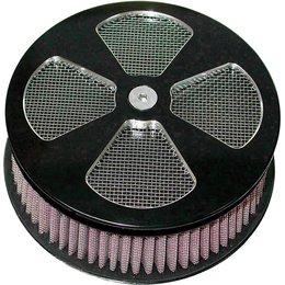 HardDrive Retro HP 4-Spoke Replacement Mesh Air Cleaner Filter Black 120310 Black