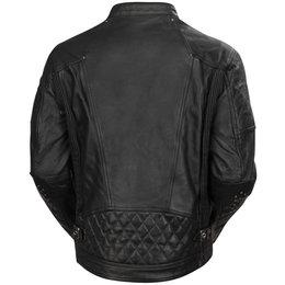 RSD Mens Clash Leather Jacket Black