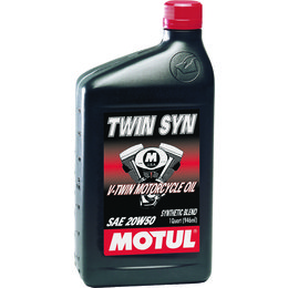 Motul Twin Syn Technosynthese 4-Stroke V-Twin Engine Oil 20W-50 1 Quart