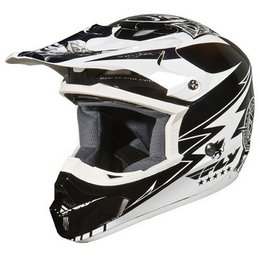 Fly Racing Youth Kinetic Helmet White