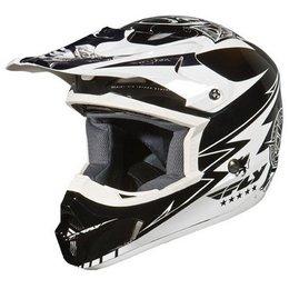 Fly Racing Youth Kinetic Helmet White