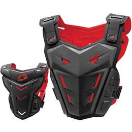 Black Evs Youth F1 Roost Chest Protector One Size