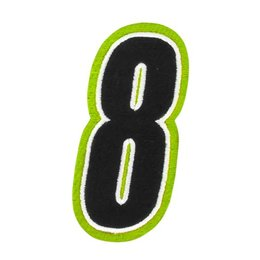 Hi-vis American Kargo 5 Inch Number #8 Eight Patch 2014