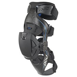 POD K8 Carbon Fiber Knee Brace Right Grey