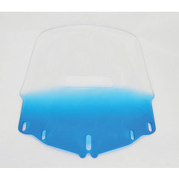 Memphis Shades Windshield Tall W/Hole Blue For Honda GL1800